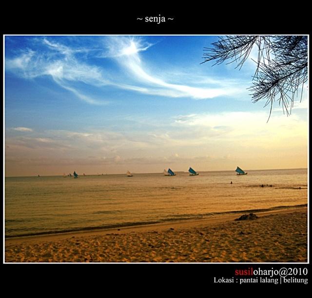 pantai lalang belitung